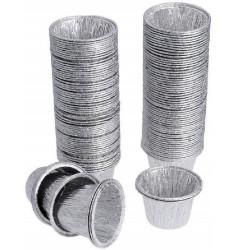 Contenitore alluminio budino 100 pz