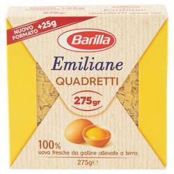 Quadretti all'uovo emiliane BARILLA 275gr