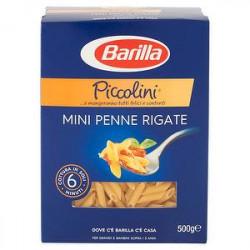 Mini penne rigate pasta di semola BARILLA 500gr