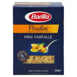 Mini farfalle pasta di semola BARILLA 500gr