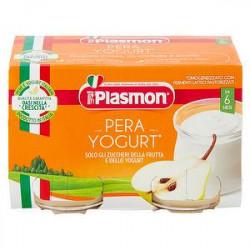 Merenda PLASMON pera e yogurt conf. 120g X 2 pezzi