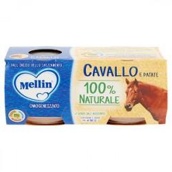 Omogeneizzati alla carne Mellin cavallo conf. 80 g x 2 pezzi