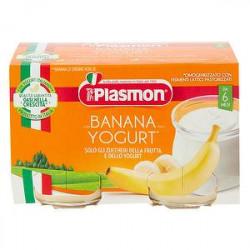 Merenda PLASMON banana e yogurt conf. 120g X 2 pezzi