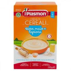 Crema di cereali PLASMON riso mais e tapioca 200g