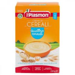 Crema di cereali PLASMON 4 Cereali 200g