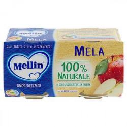 Omogeneizzati alla frutta MELLIN mela conf. 100g x 2 pezzi