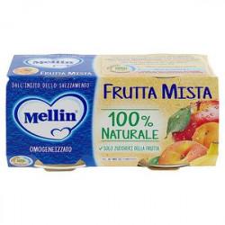 Omogeneizzati alla frutta MELLIN frutta mista conf. 100 g x 2 pezzi