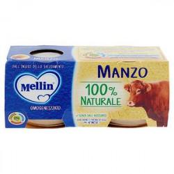 Omogeneizzati alla carne MELLIN manzo conf. 80 g x 2 pezzi
