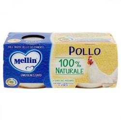 Omogeneizzati alla carne MELLIN pollo conf. 80 g x 2 pezzi