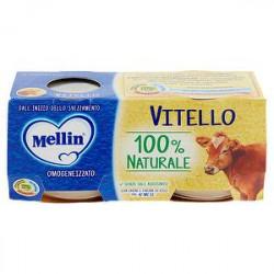 Omogeneizzati alla carne MELLIN vitello conf. 80 g x 2 pezzi