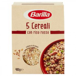 5 Cereali con riso rosso BARILLA 400gr
