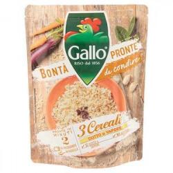 3 Cereali bontà pronte da condire expresso GALLO 250 g