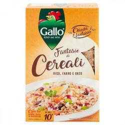 3 Cereali riso farro e orzo GALLO 800gr
