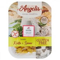 Tortellini ricotta e spinaci no glutine ARMANDO DE ANGELIS 250gr