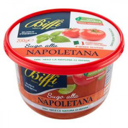 Sugo pomodoro e basilico BIFFI 200gr