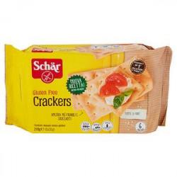 Cracker SCHÄR senza glutine 210g conf. da 6 porzioni