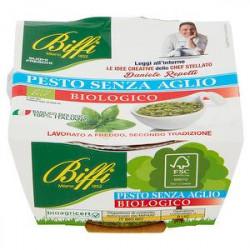 Pesto fresco bio senza aglio BIFFI 85gr