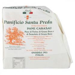 Pane carasau PANIFICIO SANTU PREDU DI OVODDA da grano macinato a pietra 900g