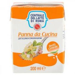 Panna da cucina uht CENTRALE DEL LATTE DI ROMA 200ml