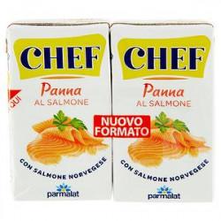 Panna uht CHEF PARMALAT al salmone conf. 125ml x 2 pezzi