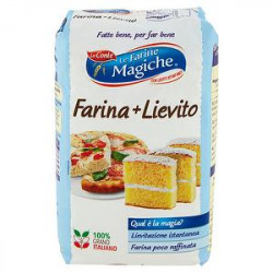Farina+Lievito 2 in 1 Le Farine Magiche LO CONTE 1kg