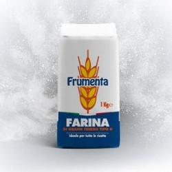 "Farina frumenta tipo ""0"" GRANDI MOLINI ITALIANI 1kg"