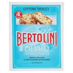 Lievito vanigliato BERTOLINI 64gr conf. da 4 buste