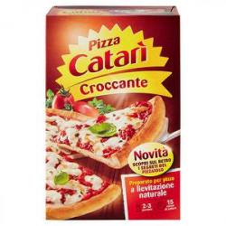 Preparato per pizza CATARì croccante 450gr