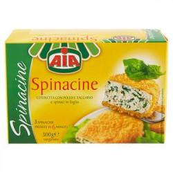 Spinacine AIA  300gr conf. da 3 pezzi