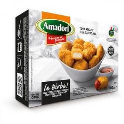 Le birbe bocconcini di pollo AMADORI 100% pollo italiano 300gr