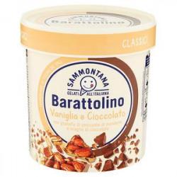 Barattolino SAMMONTANA vaniglia e cioccolato 500gr