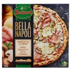 Pizza Bella Napoli BUITONI prosciutto & funghi 415gr