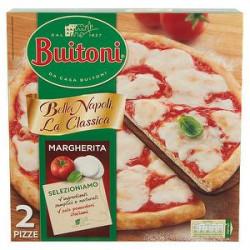 Pizza Bella Napoli la classica BUITONI Margherita 650gr conf. da 2 pizze