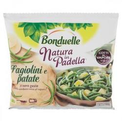 Natura in padella BONDUELLE fagiolini e patate 450gr
