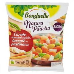 Natura in Padella BONDUELLE carote arancioni e gialle, taccole e pastinaca 450gr