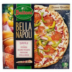 Pizza Bella Napoli BUITONI diavola 430gr