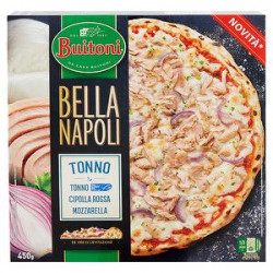 Pizza Bella Napoli BUITONI tonno & cipolla 450gr