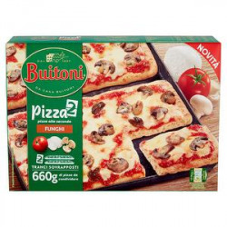 Pizza alla seconda BUITONI funghi 660gr