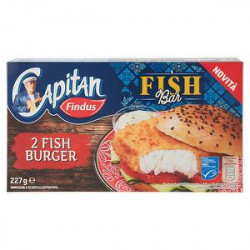 Fish burger Capitan FINDUS 227gr conf. da 2 pezzi