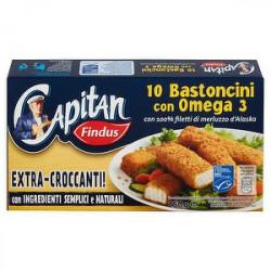 Bastoncini di merluzzo Capitan FINDUS con omega 3 250gr conf. da 10 pezzi