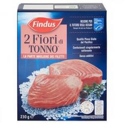 2 fiori di tonno FINDUS 230gr