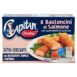 Bastoncini di salmone Capitan FINDUS 200gr conf. da 8 pezzi