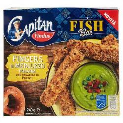 Fingers di merluzzo d'Alaska Capitan FINDUS 240gr
