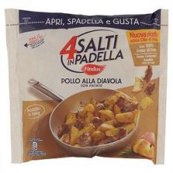 4 Salti in Padella Pollo alla diavola con patate FINDUS 500gr