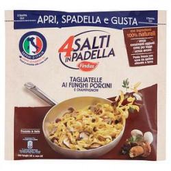 4 Salti in Padella FINDUS Tagliatelle ai funghi porcini e champignon 550gr