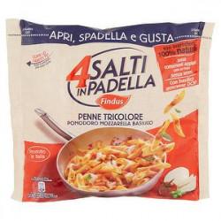 4 Salti in Padella FINDUS Penne tricolore pomodoro mozzarella basilico 550gr