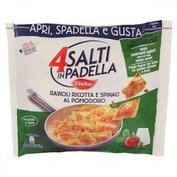 4 Salti in Padella FINDUS Ravioli ricotta e spinaci al pomodoro 550gr