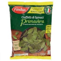 Ciuffetti di Spinaci Primavera FINDUS 750gr