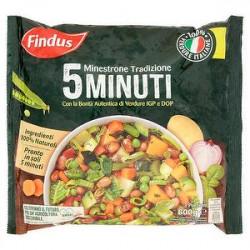 Minestrone Tradizione 5 minuti FINDUS con verdure igp e dop 600gr