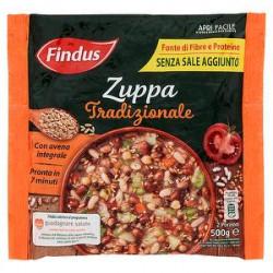 Zuppa Tradizionale FINDUS con avena integrale 500gr